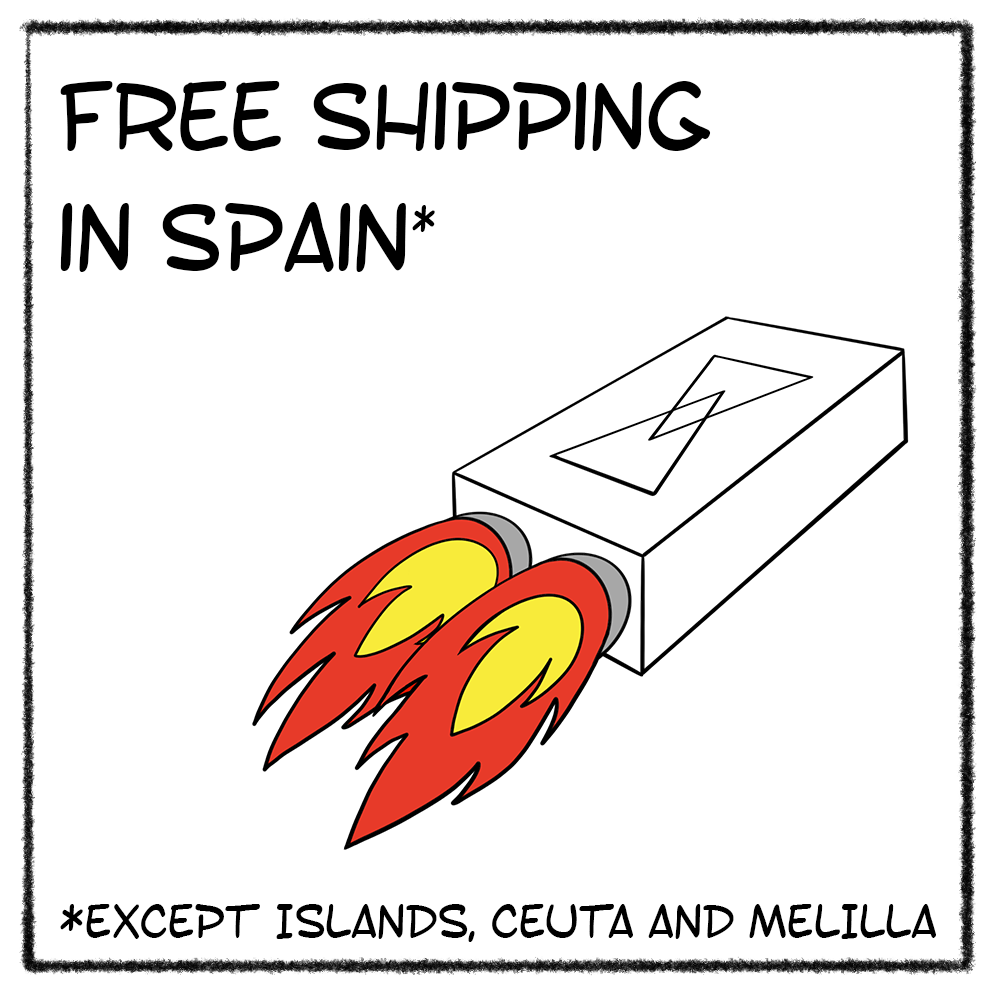 Free shipping in Spain*